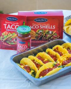 Tasty Santa Maria tacos