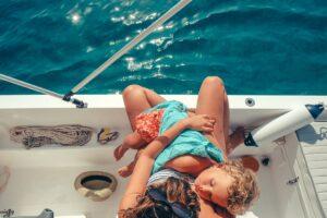 Keep kids safe from the sun with sun cream