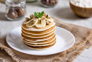 Oatmeal Pancakes with Banana